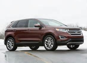 2015 Ford Edge Redesign Redesigned 2015 Ford Edge Review Consumer Reports