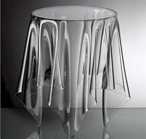 Lucite Dining Room Chairs by Clear Acrylic Side Table Interior Design Inspiration