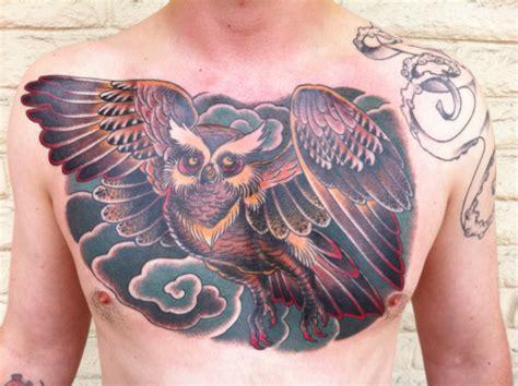 Owl Tattoo On Chest Tumblr | owl chest piece on tumblr