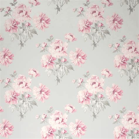 flower wallpaper laura ashley laura ashley beatrice cyclamen floral wallpaper patterns