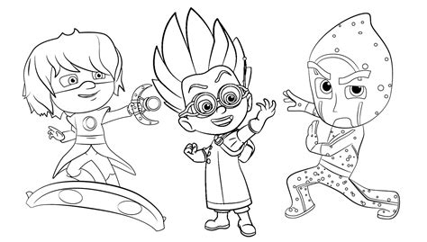 mask coloring pages pj masks coloring pages part 6 free resource for teaching