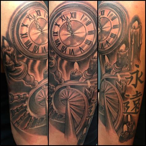 time piece tattoo time tattoos and tatting