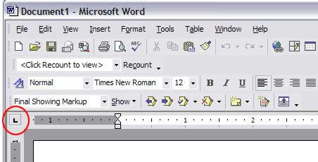 Tab selector button ms word 2007 definition of marriage