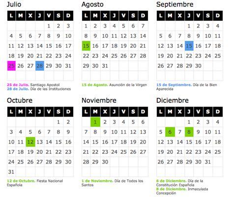 Calendario Escolar Cantabria Calendario Laboral 2016 Cantabria De Opcionis