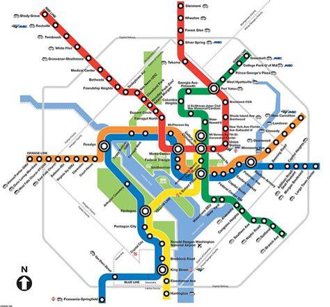 metro washington dc map lines washington dc metro map best viewed large www