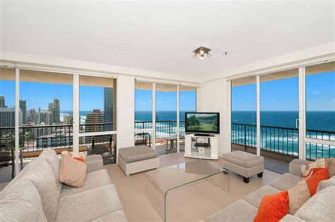 2 bedroom apartments surfers paradise accommodation 2601 ballah paradise centre