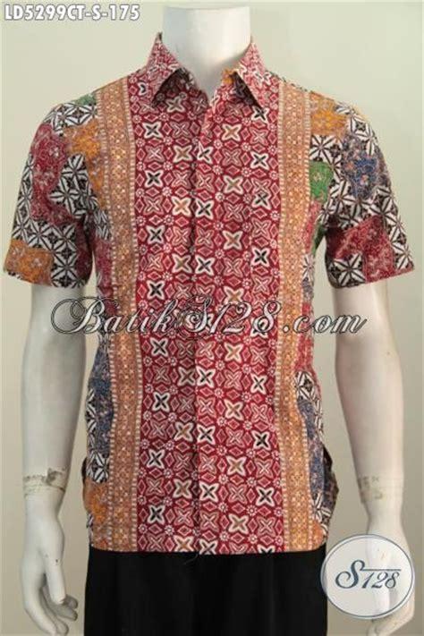 desain baju batik yang bagus pakaian kemeja batik trendy buatan solo untuk kawula muda