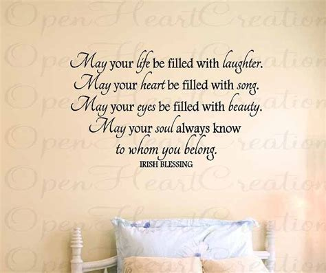 Baby Vinyl Wall Quotes wall decals blessing vinyl wall quote may your