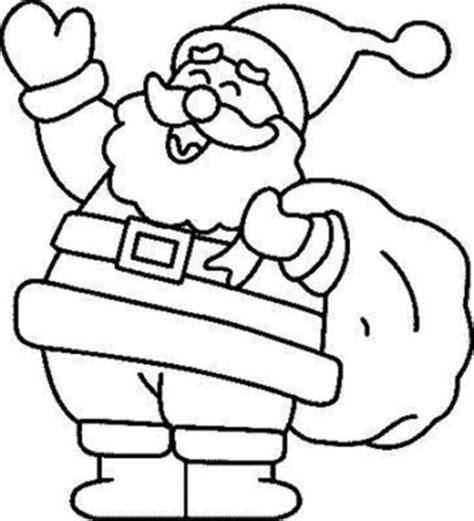 imagenes de santa claus para niños dibujos de santa claus pap 225 noel para colorear en