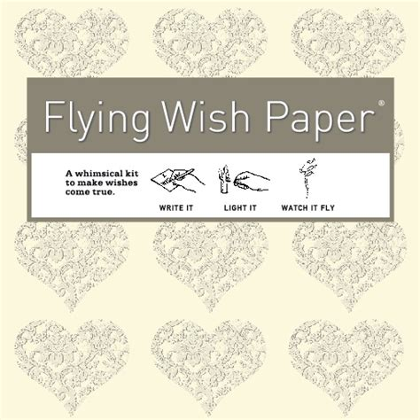 How To Make Flying Wish Paper - flying wish paper kits