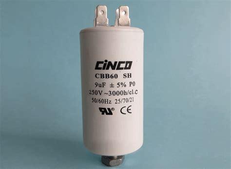 250vac capacitor 9uf 250vac cbb60a motor run capacitors 4pins cinco capacitor china ac capacitors factory