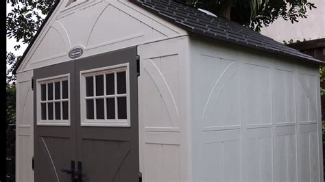 craftsman outdoor storage sheds youtube