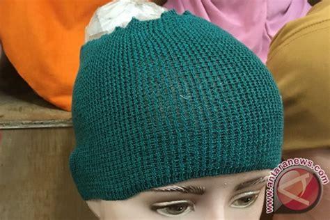 Bandana Masha mengenal ragam ciput dari topi masha sai rajut anti pusing ramadhan antara news