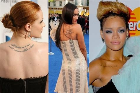 best celebrity tattoos the best and worst tattoos 50