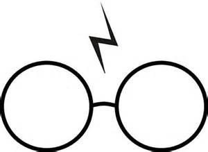 Harry Potter Lightning Scar Emoji Harry Potter Occhiali E Cicatrice Tatuaggio Temporaneo
