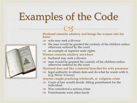 napoleonic code powerpoint