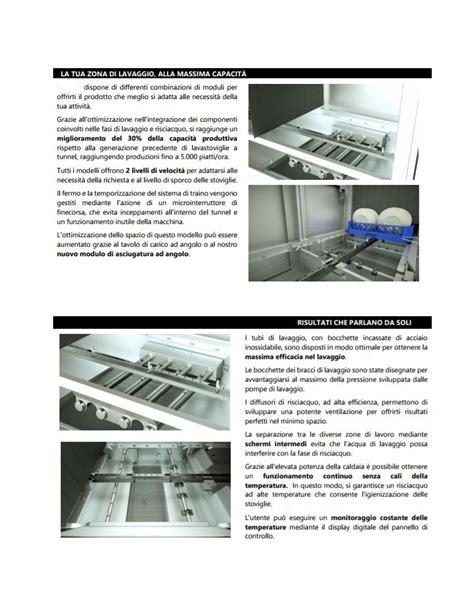 lavastoviglie doppio ingresso lavastoviglie a traino a 2 velocit 224 lavaggio potenziato
