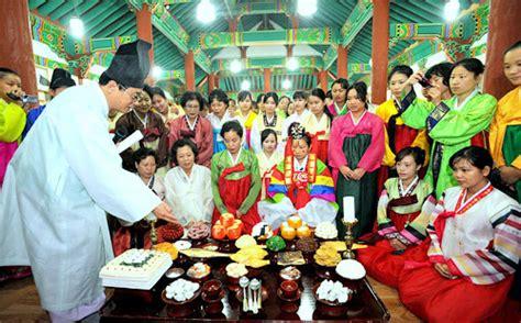 Thanksgiving Table Setting - korea spectrum setting the table for chuseok the chosun ilbo english edition daily news