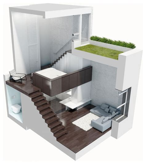 Japan Interior Design manhattan micro loft model 3d plans interior design ideas