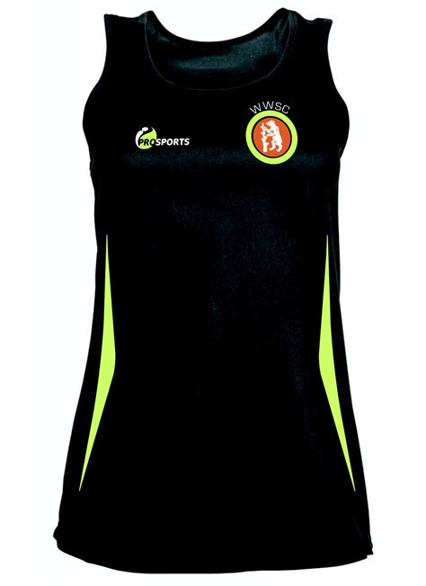 west warwicks womens classic sports vest  colours