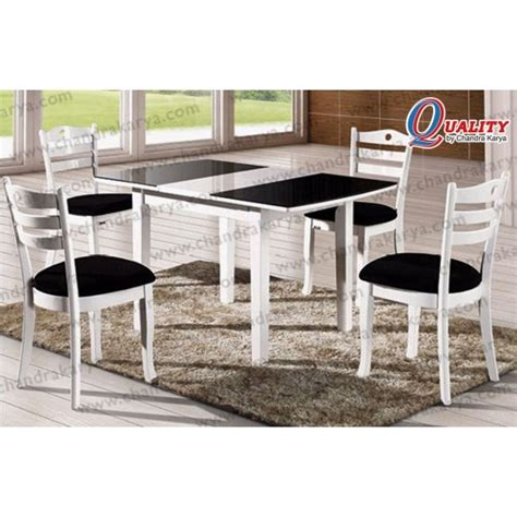 Ar Set Hitam dining set quality citrus hitam putih