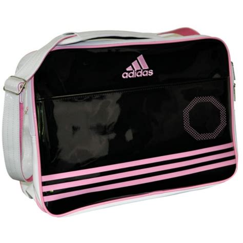 Tas Adidas Adz Backpack S adidas sport bag shiny white black pink order find it at fightingequipmentshop