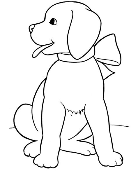 Printable Coloring Pages Of Dogs | free printable dog coloring pages for kids