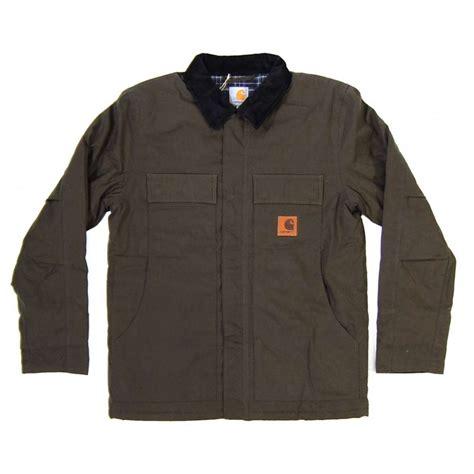 carhartt arctic jacket olive mens jackets from attic