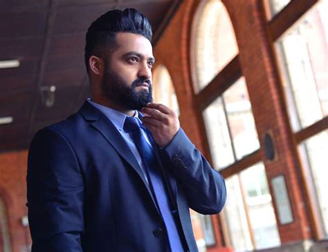 beard look of ntr in movie my family ntr trivikram film to be launched in november