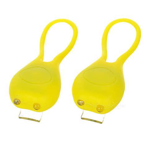 Barang Berkualitas Bicycle Tadpole Light Multi Colour Led Mountain 2 tadpole style multi color 2 led warning bike light yellow 2pcs free shipping dealextreme