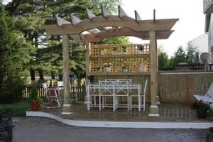 Pergola Bar by Patio Pergola Designs Perfect For The Upcoming Summer Days