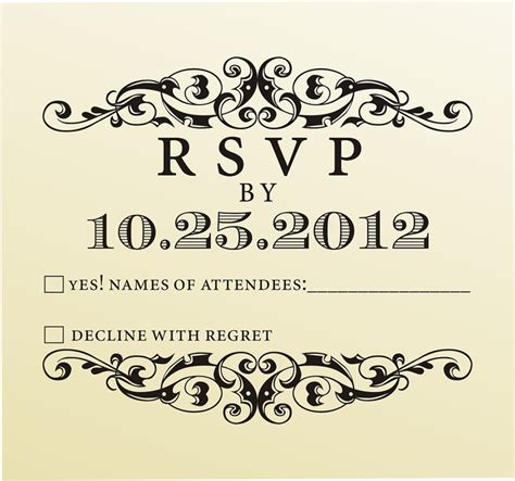 rsvp rubber st wedding rsvp rubber st for custom diy wedding invitations