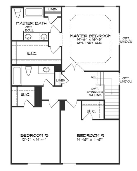 two story house plans with master on second floor baby nursery 2 story house plans with master on second