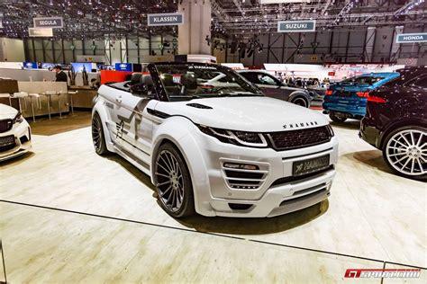 land rover hamann geneva 2017 hamann range rover evoque convertible gtspirit
