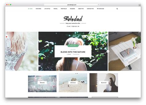 lifestyle blog design 30 best blog wordpress themes for corporate personal