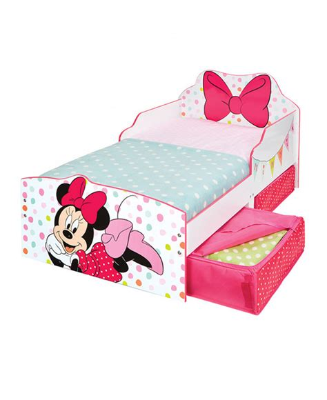 minnie bed minnie mouse toddler bed with storage