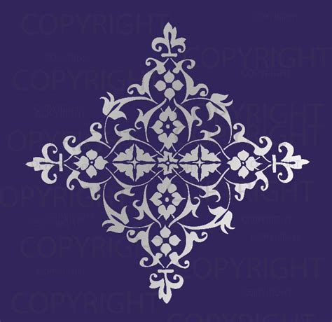 Affordable Wall Murals wall stencil patterns free patterns