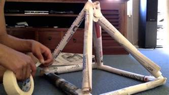 How To Make A Tower With One Of Paper - 2013edn newspaper tower