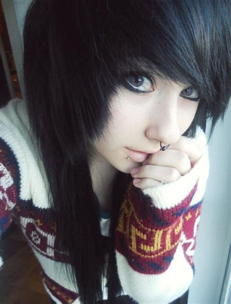 emo hairstyles bangs 183 best that fringe tho images on pinterest emo