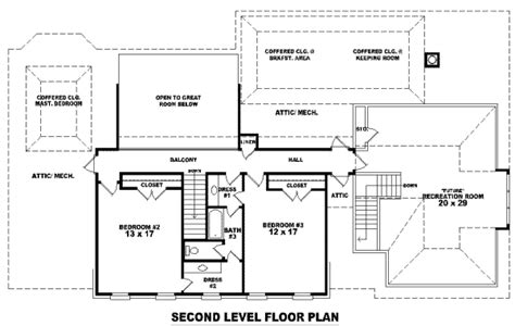 3500 sq ft house floor plans traditional style house plan 3 beds 3 5 baths 3500 sq ft plan 81 1259