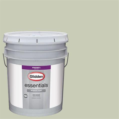 glidden essentials 5 gal hdgg49 soft eggshell interior paint hdgg49e 05en the home depot