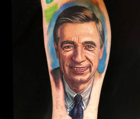 mr rogers tattoos picture mr rogers portrait by nikko hurtado no 145