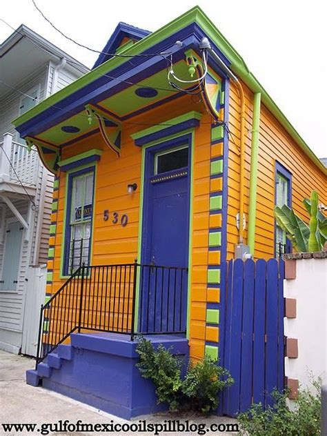 new orleans colorful houses 17 best images about cool colorful houses cute little