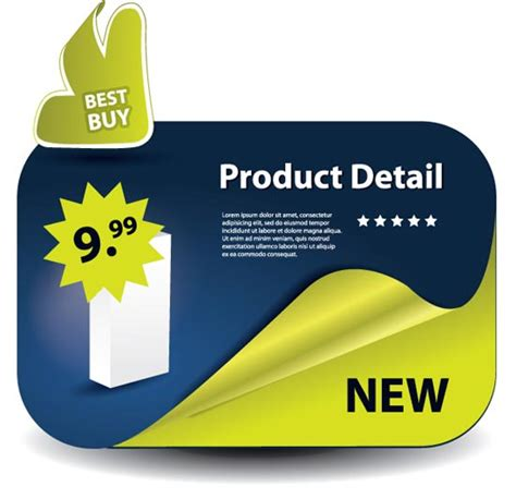 product label templates free product labels vectors