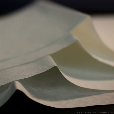 Flash Paper - pyromaniac magic thick flash paper