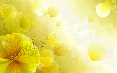 yellow flower wallpaper for walls flower full hd wallpaper and background 1920x1200 id