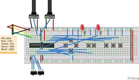 nintendo nes controller wiring diagram wiring diagram