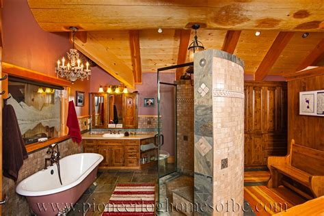 home and interiors bedrooms and bathrooms log home and cabin interiors