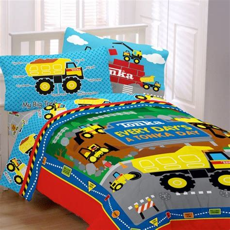 boy toddler bedding construction toddler bedding sets under construction