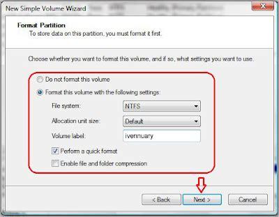 cara format hardisk baru di windows xp brother cara membuat partisi hardisk di windows 7